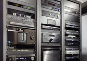 rack for audio equipment